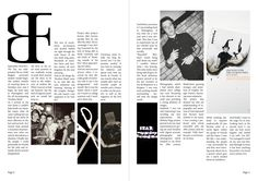 Magazine Layout Project - Strips by Ben Fullerton, via Behance