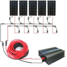 mc4 t branch connector solar panel parallel wiring diagram solar eco worthy 800w monocrystalline on grid solar panel kit 5pcs 160w mono solar panels