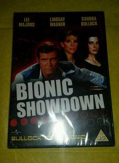 Bionic Showdown NEW PAL Cult DVD Wagner Majors Bullock Region 2/4 Sealed Import #BionicMan #LeeMajors #Throwback