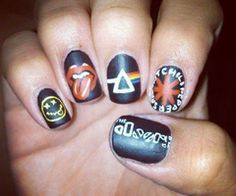 #bands #nails