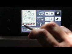 IN DEPTH scanner and cut adjustment, not the calibration Original ScanNCut Brother Jen Blausey - YouTube