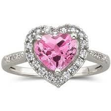 pink sapphire rings - Google Search