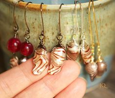 Autumn Moonlight Freshwater Pearl Earrings Beach by Prettybox4her, $16.00