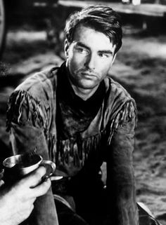 Montgomery Clift in Red River also starring John Wayne.