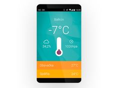 Weam Wireless weather monitoring station for smartphones by Tomas