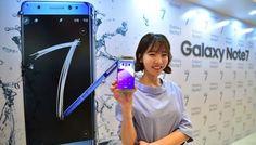 Samsung paralisa produção do Note 7