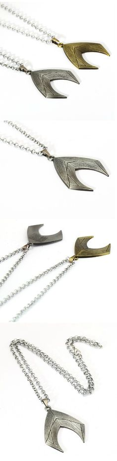 Justice League  Aquaman Logo Necklace! Click The Image To Buy It Now or Tag Someone You Want To Buy This For. #justiceleague