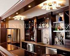 Basement Bars Design, Pictures, Remodel, Decor and Ideas - page 4 (my dad would have loved this...he always wanted to put one in our basement when I was a kid!).