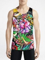 eb3252c086ce60 Psychedelic Tattoo - Tanks. Psychedelic TattoosTattoo GuysTattoos For GuysMens  TopsMuscle ...