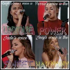 #LittleMix y sus hermosas voces Imagen hecha por mi, o sea @chuly Espero que les guste!