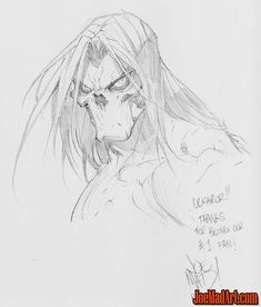 Sketch done at PCE 2016 for Ulkhror (Me! ;) ) (Pencil)