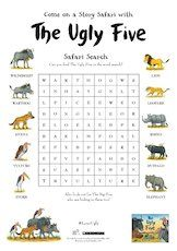 The ugly five wordsearch 1657618