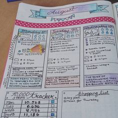 Just to share how my weekly planner is going. I love the news headline, though it is challenging just picking one. I have added the 10,000 step tracker and it is helping me to walk more, so I will keep this. It has been a good week  #bujocommunity #bulletjournalnewbie #bujo #bulletjournal #bulletjournaljunkies #bulletjournaling #bujojunkies #whatsinyournotebook #leuchtturm1917