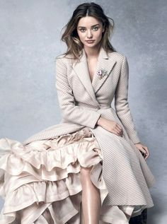 Miranda Kerr For Vogue Australia via @WhoWhatWear