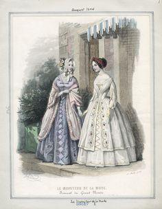 Le Moniteur de la Mode August 1844 LAPL