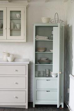 devol shaker cupboard, stoarge in the door and color