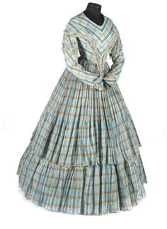 Day dress ca. 1840's