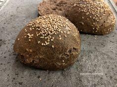 panino da hamburger con farina di grano saraceno