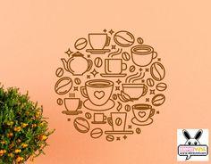 vinilo decorativo cafetería, hostelería, bares, cafés