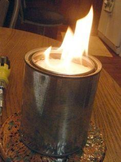 Homemade Emergency Heater - outdoor self reliance