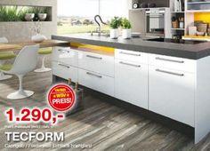 Tolle Küchenlösungen zum tollen Preis - DAN Küchen Modell Tecform verleiht ihrem Raum ein einzigartiges Design...euer tischler.cc team