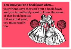 You know you are a #BookLover when_____________________!