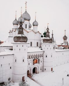 Rostov Velikiy (Rostov the Great) Kremlin Yaroslavl Oblast on the Nero River
