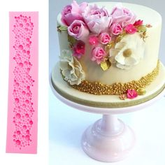 Pearl String Beads Silicone Mold Cake Pastry Fondant Baking Mould Cake Tool #ebay #Home & Garden