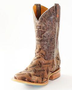 Tin Haul® Men's Diamond Plated Boots