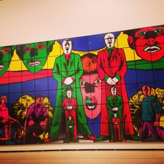 Gilbert and George Gilbert & George, Contemporary Artists, Mixed Media, Colour, Painting, Life, Color, Painting Art, Paintings