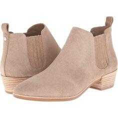 MICHAEL Michael Kors Shaw Flat Bootie (Dark Khaki Sport Suede) Women s  Boots featuring polyvore c24b8c2bd9
