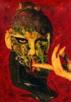 "Saatchi Online Artist CARMEN LUNA; Mixed Media, ""39- Arte de coleccion. Collagemania "" #art http://www.saatchionline.com/art-collection/Assemblage-Collage/Collagemania-CARMEN-LUNA/71968/46137/view"