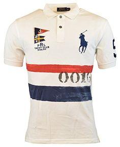76c1e37e9989d8 POLO RALPH LAUREN Polo Ralph Lauren Classic-Fit Americana Nautical Polo  Shirt. #poloralphlauren #cloth #