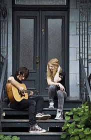 Reminds me of Sam and Grace from Shiver, Linger, and Forever by Maggie Stiefvater
