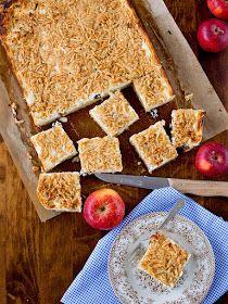 Pradobroty: Jablečný koláč s tvarohem Apple Pie, Cereal, Clean Eating, Baking, Breakfast, Food, Apple Cobbler, Healthy Crock Pot Meals, Bread Making