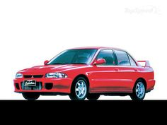 Mitsubishi Lancer EVO I. Talk about old school!
