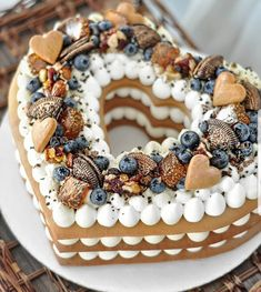 ❤❤❤ You've to Love what you do!😍Хромова Мария Олеговна Do you know how to make Number cake?🤗 - Start to bake with All number cakes recipes in bio! Cake Recipes, Dessert Recipes, Heart Shaped Cakes, Biscuit Cake, Number Cakes, Pretty Cakes, Creative Cakes, Christmas Baking, Christmas Desserts