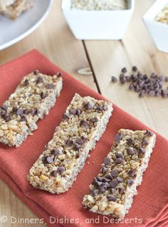 No Bake Chewy Granola Bars! I just can't bring myself to buy the store bought brands!