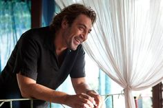 Javier Bardem... it's his voice and his super manliness :)