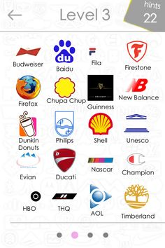 famous internet logos | Level 3 Logos Quiz Game Answers For Iphone, Ipad, Ipod touch & Android