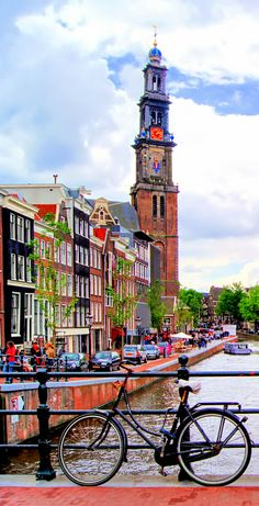 Amsterdam - the city of canals, Netherlands.
