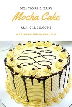 17 Best Goldilocks Mocha Cake Recipe Images Goldilocks Mocha Cake