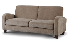 The Vivo Sofa Group is a luxurious and delightfully comfortable sofa collection, featuring retro styled arms and upholstered in a soft touch Chestnut Brown faux leather, Mink Chenille fabric, or Grey Chenille Fabric. Retro Furniture, Home Office Furniture, Chenille Fabric, Comfortable Sofa, 2 Seater Sofa, Quality Furniture, Sofa Bed, Bedding Shop, Interior Styling