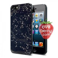 Celestial Constellation Map iPhone and Samsung Galaxy Phone Case
