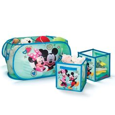 Avon Living Disney Mickey Mouse & Minnie Mouse Collapsible Storage Cubes - Regular price 16.99 for set of 2 | AVON – Avon Living – Kids Room Decor – Shop Avon Living Kids Room Decor products at:  https://www.avon.com/category/avon-living/kids?rep=barbieb