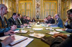Macron a reçu les reponsables des cultes pour s'entretenir sur des sujets de société