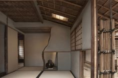 Philadelphia Museum of Art - Collections Object : Ceremonial Teahouse: Sunkaraku (Evanescent Joys) Philadelphia Museum Of Art, Fantasy Inspiration, Art Museum, Woodworking, Collections, Ceiling Lights, Japan, Irises, Architecture