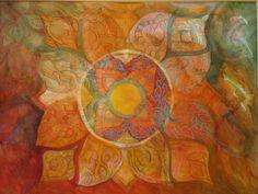 Tracey's Mandala by Bethany Tobin