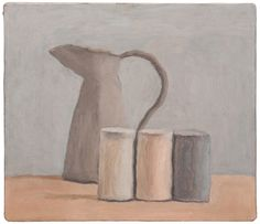 Giorgio Morandi, Natura morta (Still Life), 1962, oil on canvas. ©2015 ARTISTS RIGHTS SOCIETY (ARS), NEW YORK/SIAE, ROME/PRIVATE COLLECTION, SWITZERLAND