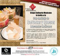 Cata-Maridaje de Cervezas y Quesos Artesanales Mex / Culinaria Mexicana / DF / 24 Mayo